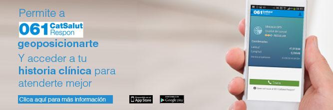 Aplicación móvil 061 CatSalut Respon