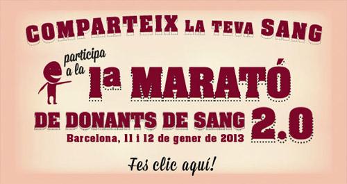 Marató de donants de Sang