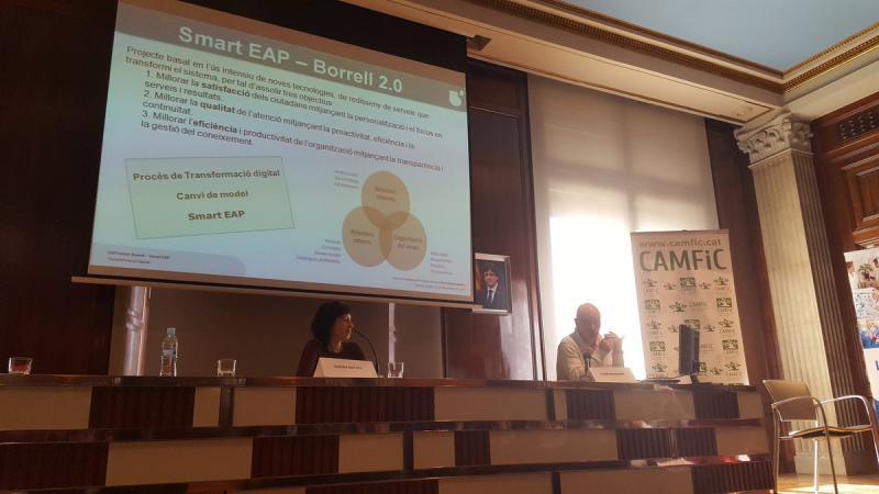 Presentación del proyecto realizada por el Dr. Jaume Benavent