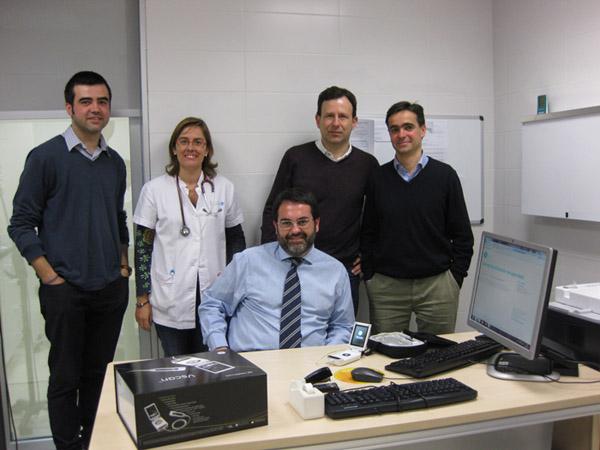 D'esquerra a dreta i de dalt a baix: Belchin Kostov, Marta Navarro, Alfonso Pérez, Daniel Cararach i Antoni Sisó